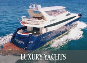 Luxury yachts and Boat hire